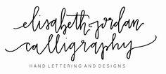 Elisabeth Jordan Calligraphy -elisabethjordancalligraphy.com