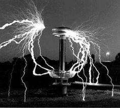 the Tesla Coil photo