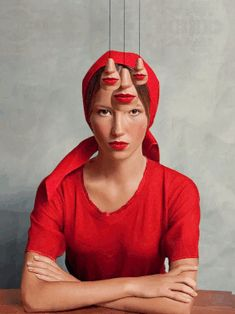 Surreal Portrait Series on Behance Montage Art, Art Visage, Ads Creative, Surreal Art, Surreal Portraits, Gif Animé, Cool Animations, Stop Motion, Motion Design