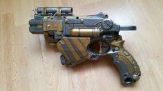 Sci fi hand gun