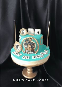 Cake Designs Images, Cool Cake Designs, Girl Birthday, Birthday Parties, Birthday Cake, Happy Anniversary Cakes, Marvel Cake, Baker Cake, Animal Cakes