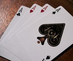 Jeu de cartes Steampunk ~ Rincevent Blog Poker