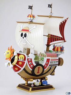 AnamiSunny Pirate Ship Model on AliExpress.com.  <3 this.