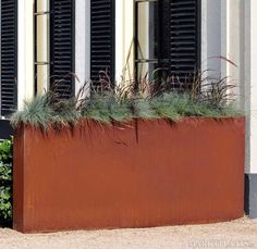 Corten Planter by ABK InnoVent