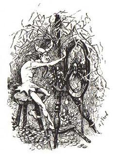 Rumpelstiltskin - The Blue Fairy Book, 1889