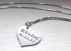 #Win a personalized jewelry heart necklace from Jessie Girl Jewelry! #giveaway | katiescharmsblog.com