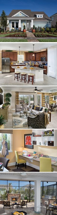 Don't let size fool you! This highly functional floorplan allocates square footage efficiently to create plenty of room for the whole family! Build lasting memories with your loved ones during family game night in the spacious family room or cook up a gourmet dinner for those momentous special occasions in the gorgeous kitchen. The Starcrest Plan in Ponte Vedra, FL allows your family to enjoy closeness without being crowded. You'll revel in the warmth of a home that brings family together.