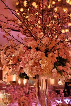 Floral Trend: Natural elements infused with crystals and sparkles are extremely popular.