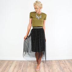 Winter Night Skirt