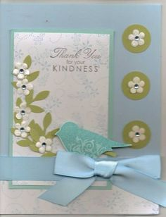 Thankyou for your Kindness by lindahur - Cards and Paper Crafts at Splitcoaststampers