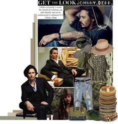 """""""Get the look- Johnny Depp"""" by maurizioluigia on Polyvore"""