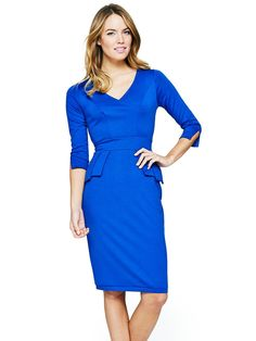 Ponte Peplum Dress, http://www.very.co.uk/south-ponte-peplum-dress/1339630378.prd