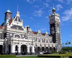 Estação de Dunedin, Nova Zelândia