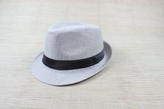 Hard Felt Fedora Trilby Hat Retro Uni Panama Hat Men Gangster Dancer Cap Alternative Measures