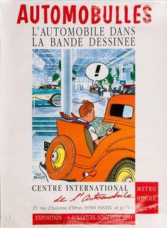 BENOIT, Ted. Automobulles, L'Automobile dans La Bande Dessinee. Expos… – Sotherans