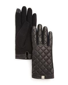 Lauren Ralph Lauren Quilted Tech Gloves | Bloomingdale's