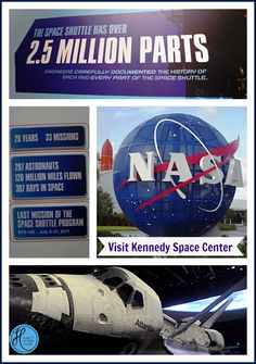I grew up in Florida and every time we visit Orlando, it's to visit the parks: Disney or Universal. This year for the first time ever we took time out to visi Visit Orlando, Kennedy Space Center, Sunshine State, Space Shuttle, Time Out, 6 Years, Astronomy, Science Fiction, Growing Up