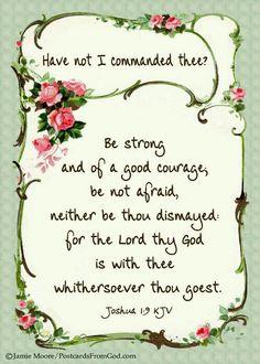 #Joshua 1:9
