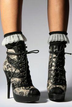 Iron Fist Heels I want them so bad!  High Heels  2dayslook   7545745ac6
