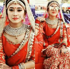 Beatifull and bride @shivangijoshi18