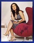 Salma Hayek Signed 11x14 Sexy Photo - PSA/DNA Authenticated Z97824