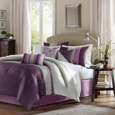 Madison Park Mendocino 7-piece Comforter Set | Overstock™ Shopping - Great Deals on Madison Park Comforter Sets