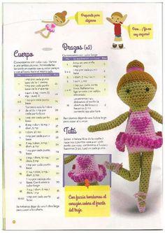 68 Patrones de amigurumi en español Crochet Dolls, Crochet Hats, Crochet Doily Patterns, Chrochet, Amigurumi Doll, Crochet Animals, Diy Tutorial, Pattern Design, Crochet Necklace