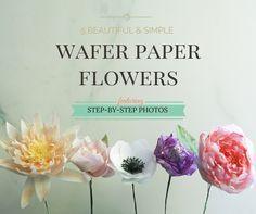 53 Best Wafer Paper Decorations Tips Images Wafer Paper Cake
