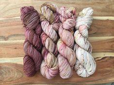Rose Cardi/Comfort Fade Cardi Kit 2 Hand Dyed Yarn DK