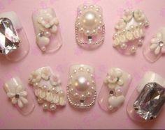Wedding 3d Nail Art Designs