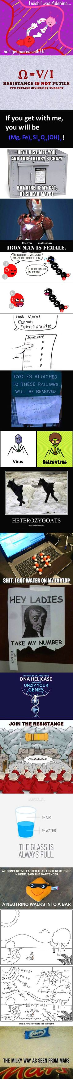 Science Humor…