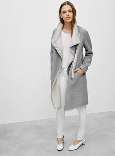 BABATON CORMAC COAT - Slick and minimal - an Italian wool coat with understated flair