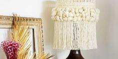 DIY lampara con lana Diy Lampe, Marie Claire, Diy Chandelier, Luminaire Design, Decoration, Lana, Creations, Wool, Lighting