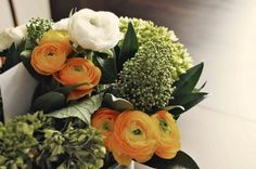 Replace with Tiger Lilly & Broccoli & other herbs for table boquet