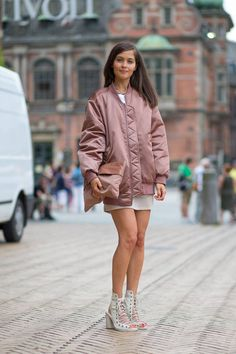 New street style photos in from Copenhagen Fashion Week—see the best looks here