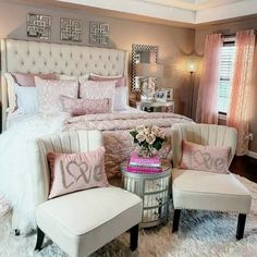 New Trend and So Beautiful Home Design Ideas! Bedroom, Kitchen, Living Room and More… 6 New Trend and So Beautiful Home Design Ideas! Bedroom, Kitchen, Living Room and Glam Bedroom, Woman Bedroom, Bedroom Decor, Bedroom Ideas, Simple Bedroom Design, Beautiful Home Designs, Remodeling Mobile Homes, My New Room, Beautiful Bedrooms