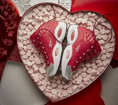 The NBA All Star Weekend usually tends to share its shine with another special occasion, which is Valentine's Day. In addition to releasing special All Star editions, brands also acknowledge Cupid's holiday and drop special colorways for that as well. Up next we can expect to see the iconic Reebok Question Mid get dressed up