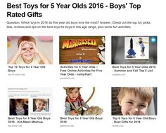 8d6ece55472f 28 Best Best Toys for 6 Year Old Boys 2016-2017 images
