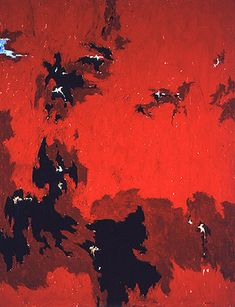 Clyfford Still: Art Paintings Abstract Expressionism New York 1949 No. 1 (PH-385) - 1949, oil on canvas, 105 x 81 inches, © Estate of Clyfford Still