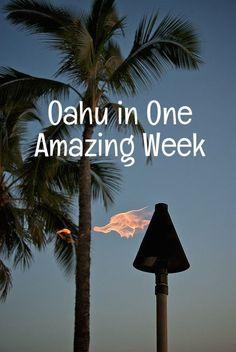 Oahu Itinerary