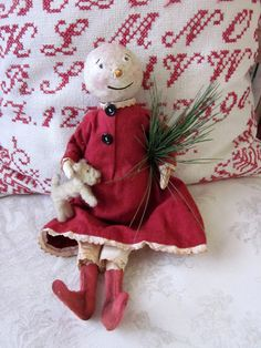 Little snowgirl from Evi's Country Snippets