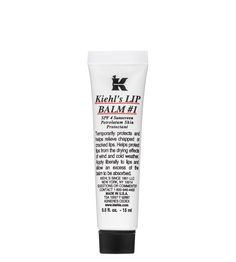 Kiehl's Lip Balm #1is light and protects lips from chapping with Almond Oil.  Highly recommend it!