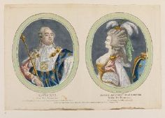 Louis XVI and Marie-Antoinette, c. 1775-1780, French school (Waddesdon)