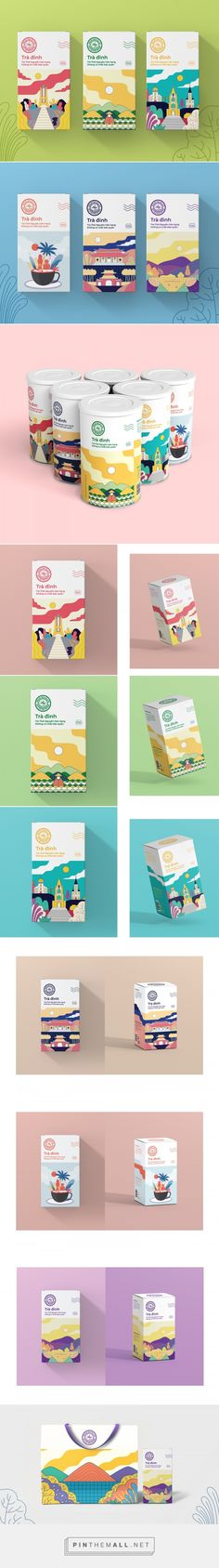 Tra Dinh Tea - Packaging of the World - Creative Package Design Gallery - https://www.packagingoftheworld.com/2018/05/tra-dinh-tea.html