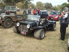 Wide-Moke photo by Truck Mods, Jeep Mods, Classic Mini, Classic Cars, Go Kart Kits, Cool Vans, Engin, Mini Trucks, Cute Cars