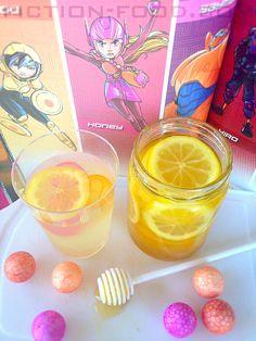 Food Adventures (in fiction!): BIG HERO 6 WEEK: Honey Lemon's Honeyed Lemon Slices