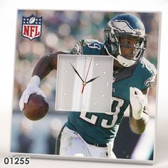 Philadelphia Eagles Team Wall CLOCK Mirror Frame NFL NFC AFC Collection Fan Gift #IKEA #PhiladelphiaEagles