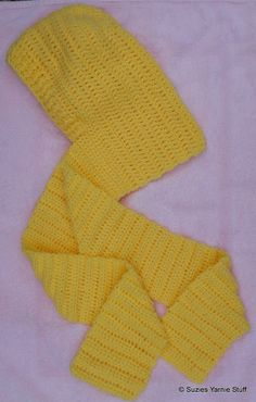 Suzies Stuff: WOMAN'S HOODED SCARF- No size specified [ Free Crochet Pattern ]