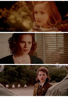 Peggy as a little girl is adorable