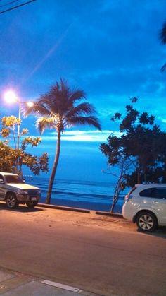 Patong beach sunset phuket thailand